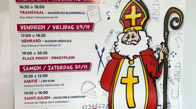 Saint Nicolas Arrive à Auderghem